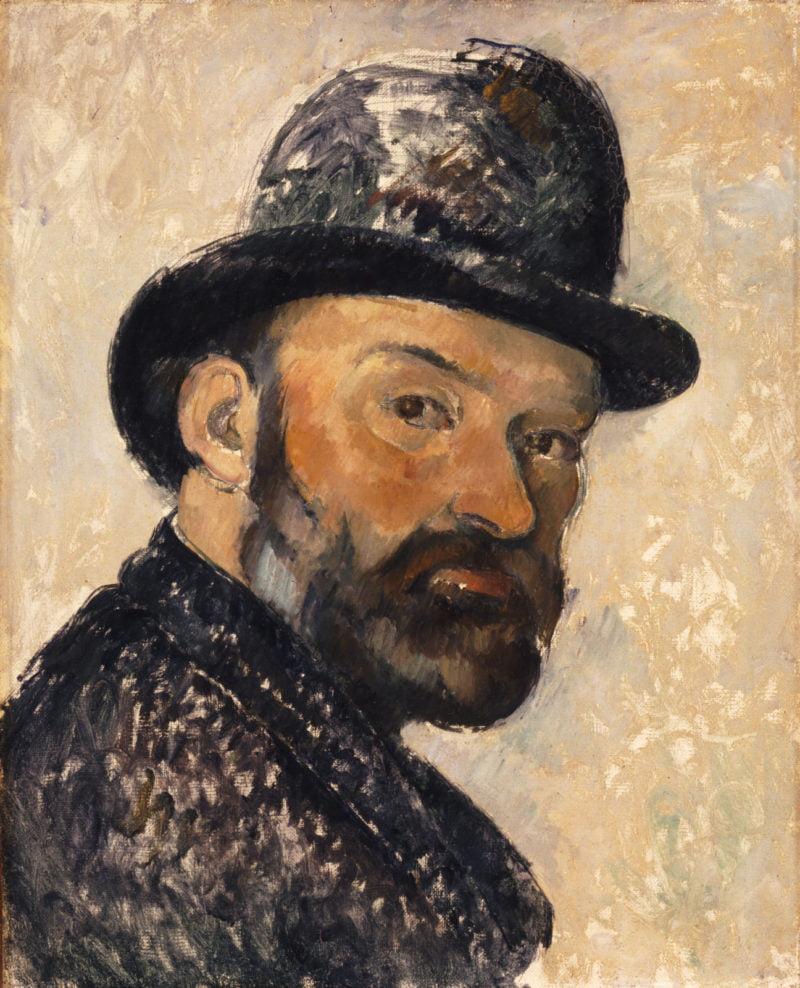 Cezanne_self-portrait-in-a-bowler-hat-1885-86-by-paul-ceuzanne-ny-carlsberg-glyptotek-copenhagen-photo-ole-haupt