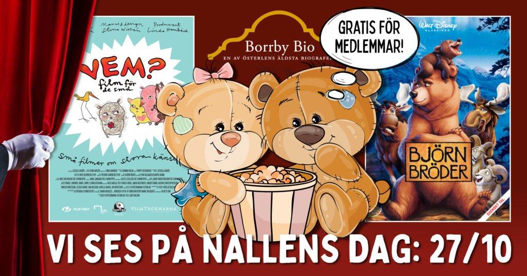 """Vi firar """"Internationella Nalledagen"""" på Borrby Biograf"""