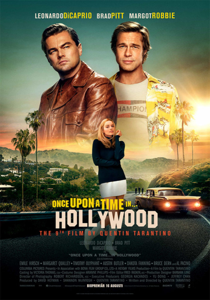 Once Upon a Time in Hollywood med Tarantino