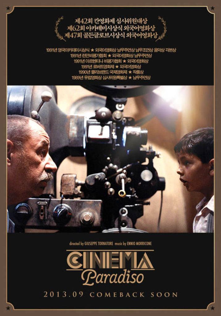 Onsdagsfilmklubb på Borrby Biograf med Cinema Paradiso